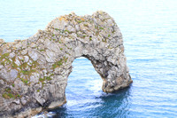Durdle Door a naturally eroded limestone arch in Dorset